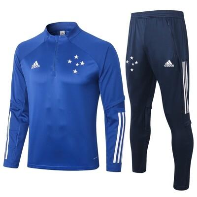 Kit Agasalho de Treinamento  Cruzeiro adidas 2020