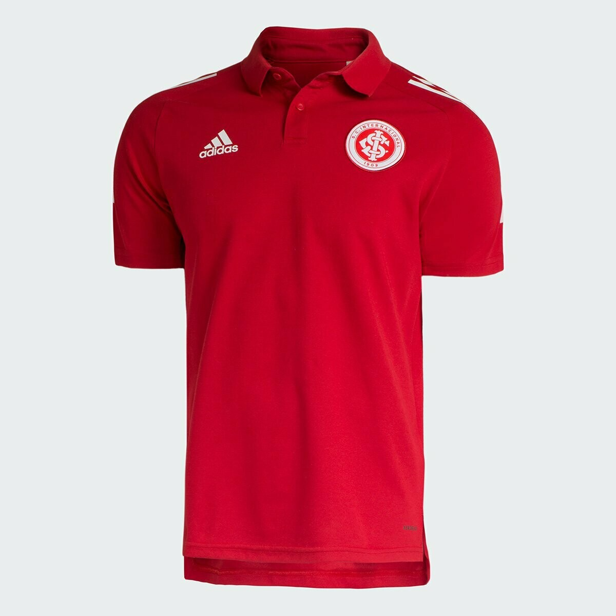 Camisa Polo Internacional Viagem 20/21 Adidas Masculina - Vermelho