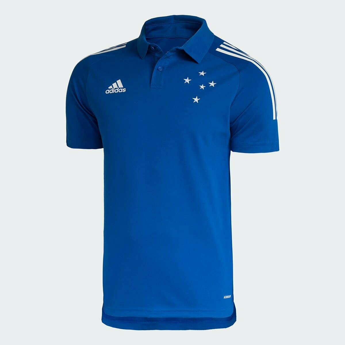 Camisa Polo Cruzeiro Viagem 20/21 Adidas Masculina - Azul Royal