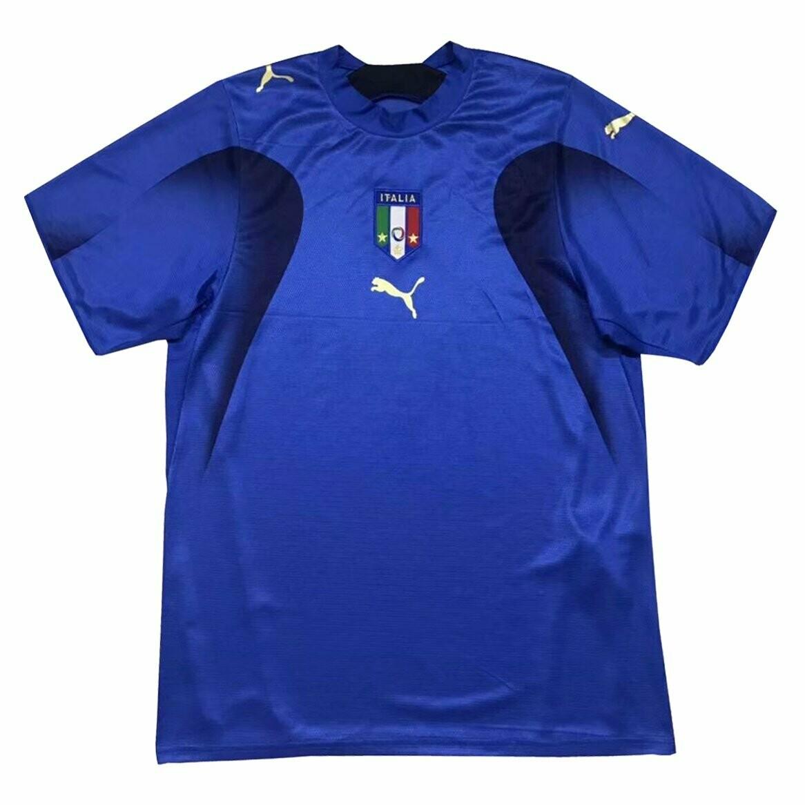 Camisa Seleção da Itália Retrô 2006