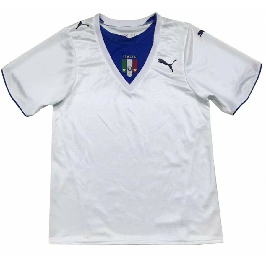 Camisa Seleção da Itália Retrô 2006 Branca