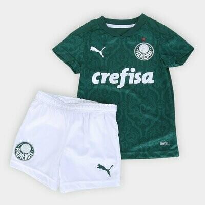 Kit Palmeiras Infantil I 20/21  Torcedor Puma - Verde