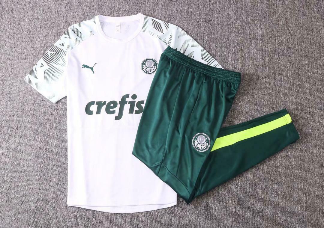 Kit Treinamento Manga curta Palmeiras 2020/2021