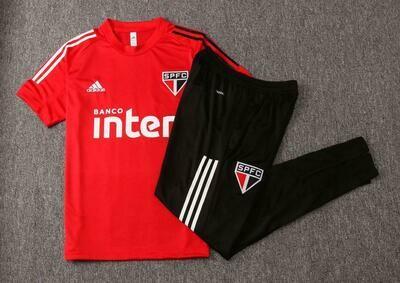 Kit Treinamento São Paulo 2020 vermelho