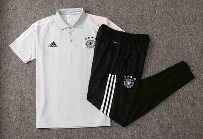 Kit Treinamento manga curta Seleção da Alemanha 2020 Polo