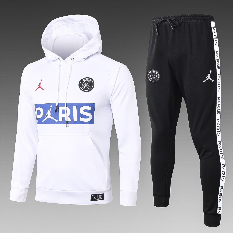 Kit Agasalho PSG x Jordan- capuz 2020/2021