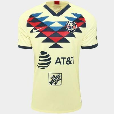 Camisa Club América Home 19/20  Torcedor Nike Masculina - Amarelo