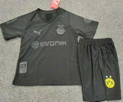 Conjunto Infantil Borussia Dortmund 110 anos 2019-2020 PUMA Preta