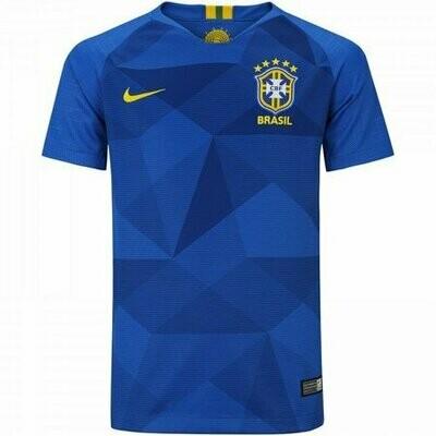 Camiseta Seleção Brasileira CBF 2018 Nike Azul