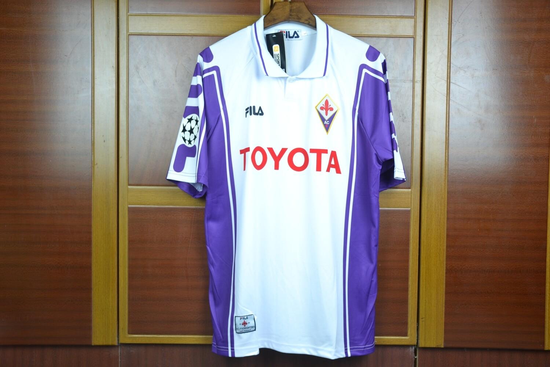 Camisa Fiorentina 1999- Branca