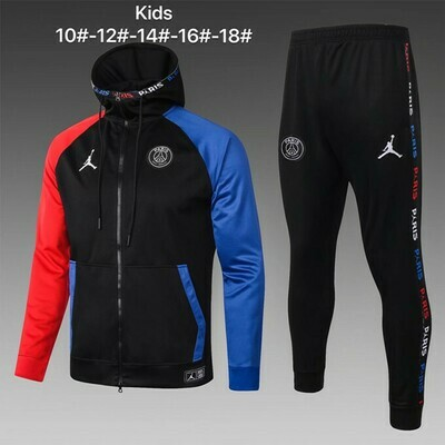Kit Agasalho Infantil Paris Saint-Germain x jordan 2020