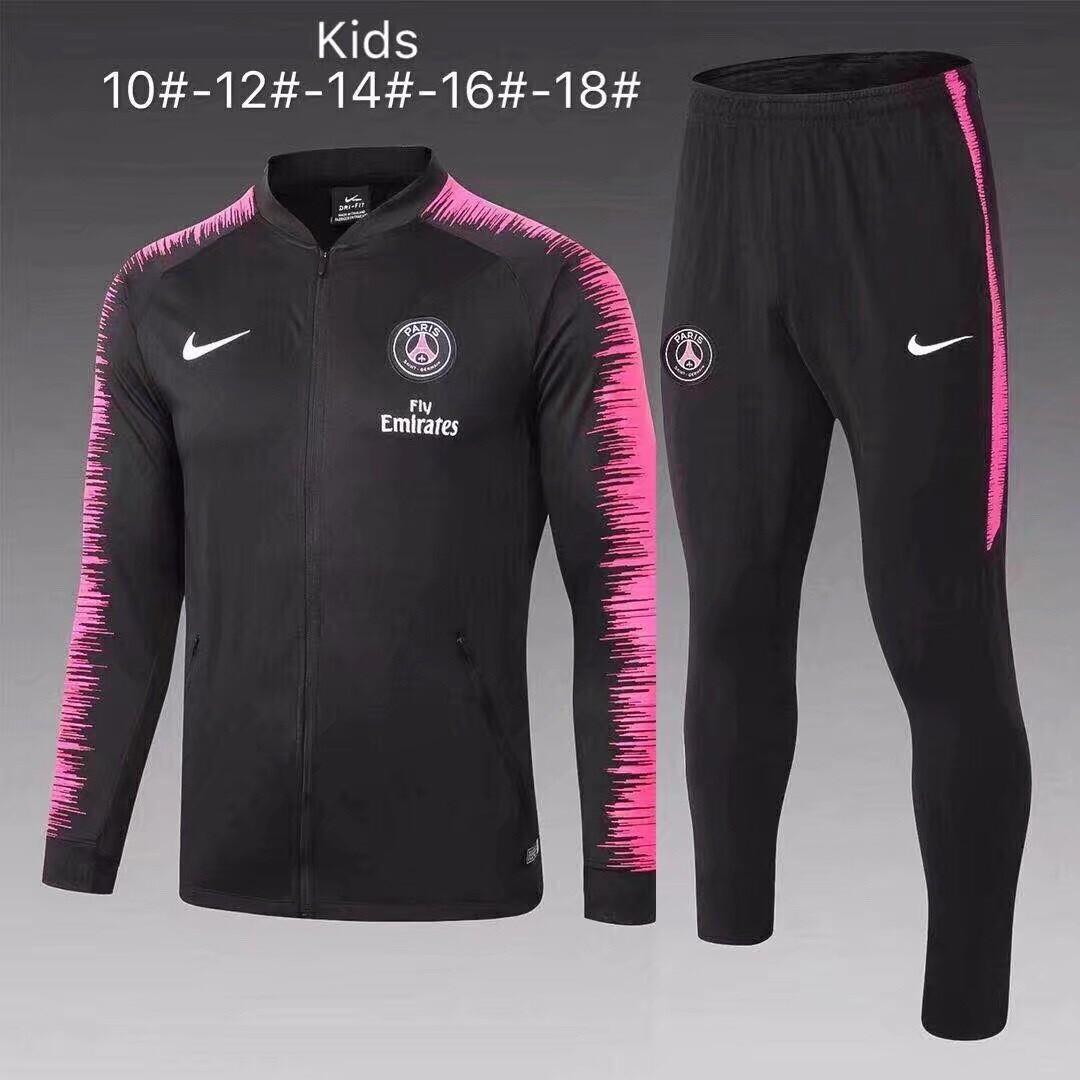 Kit Agasalho Infantil Paris Saint-Germain  18/19