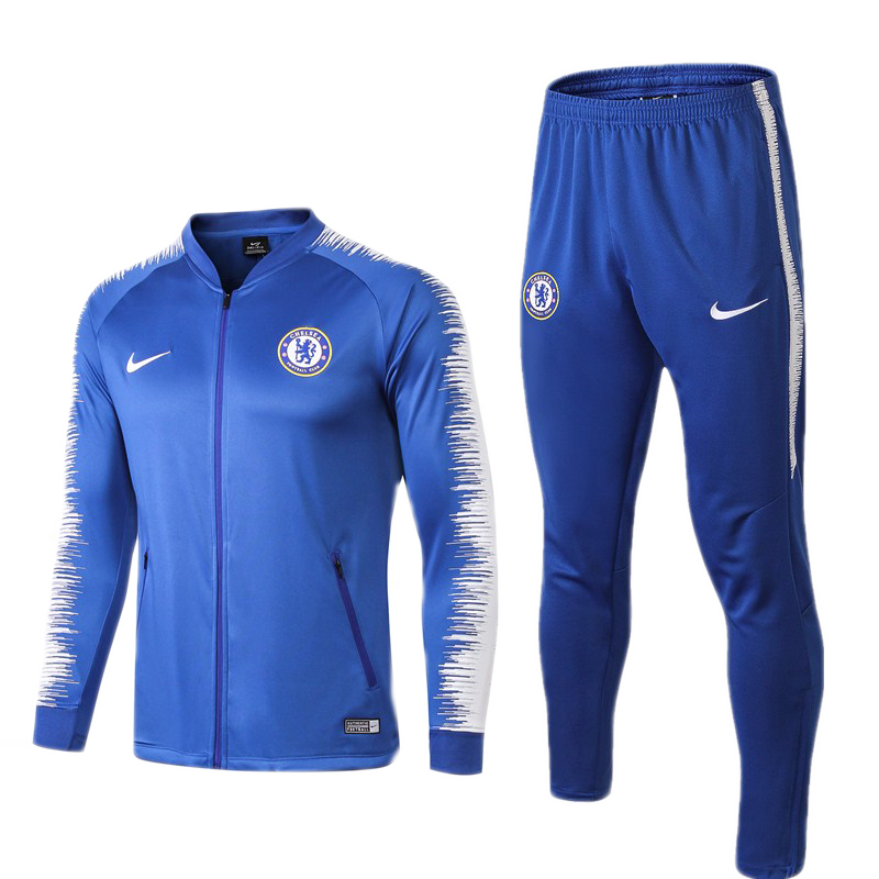 Kit Agasalho Infantil Chelsea Football Club 18/19