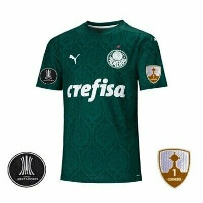 Camisa Palmeiras I Masculina com Patch Libertadores 2020 PUMA