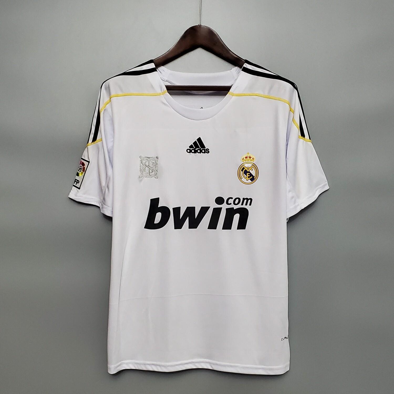 Camisa Adidas Real Madrid 2009/2010  Retrô