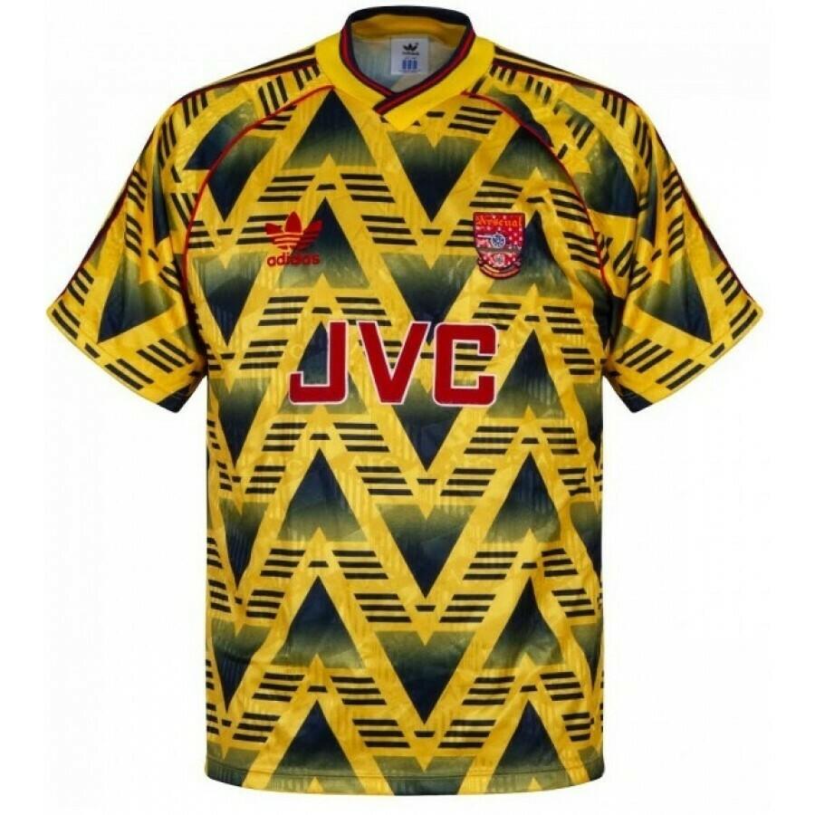 Camisa Arsenal away  1991/1993