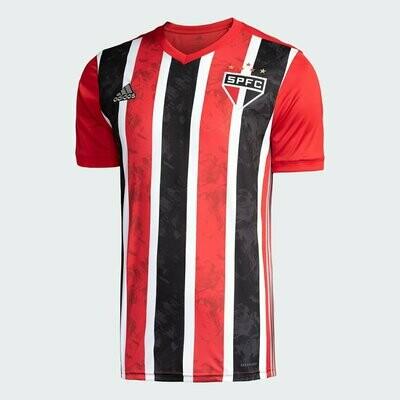 Camisa São Paulo II 20/21 Torcedor Adidas Masculina - Vermelho e Branco