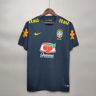 Camisa Seleção Brasileira Treino 2018/2019 Patrocínios