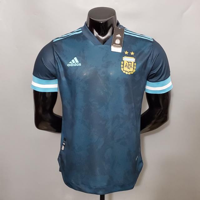 Camisa Argentina Away 2020 Versão Jogador