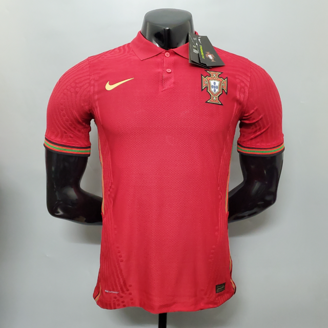 Camisa Portugal Home 2020 Versão Jogador