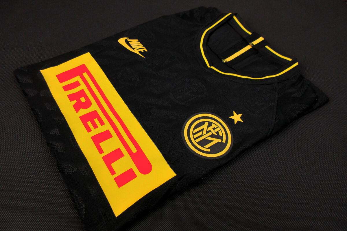 Camisa Inter de Milão Third 19/20 Nike Masculina - Preto- Jogador