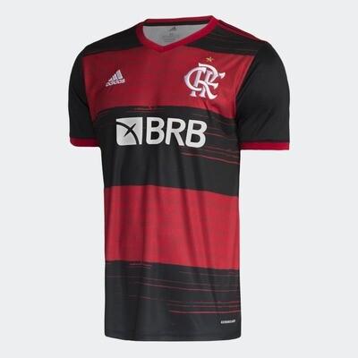 Camisa do Flamengo I 2020/2021 adidas - Masculina Patrocínio BRB