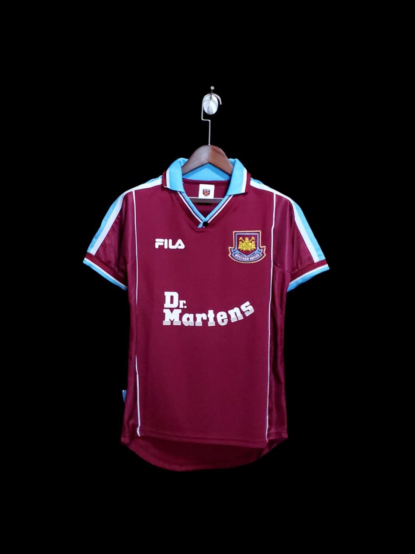 Camisa West Ham United home 1999