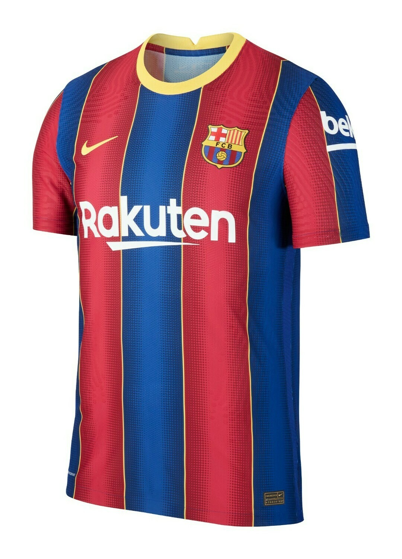 Camisa  Barcelona Home 2020-2021 Nike Pronta Entrega