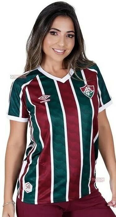 Camisa Umbro Fluminense I 2020 Feminina