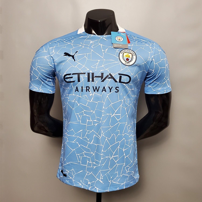 Camisa  Manchester City 2020-2021 PUMA Jogador