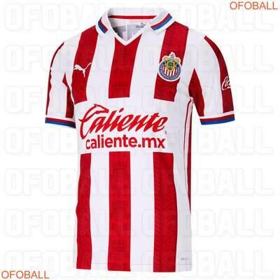 camisa Chivas Guadalajara 2020-2021 Home PUMA