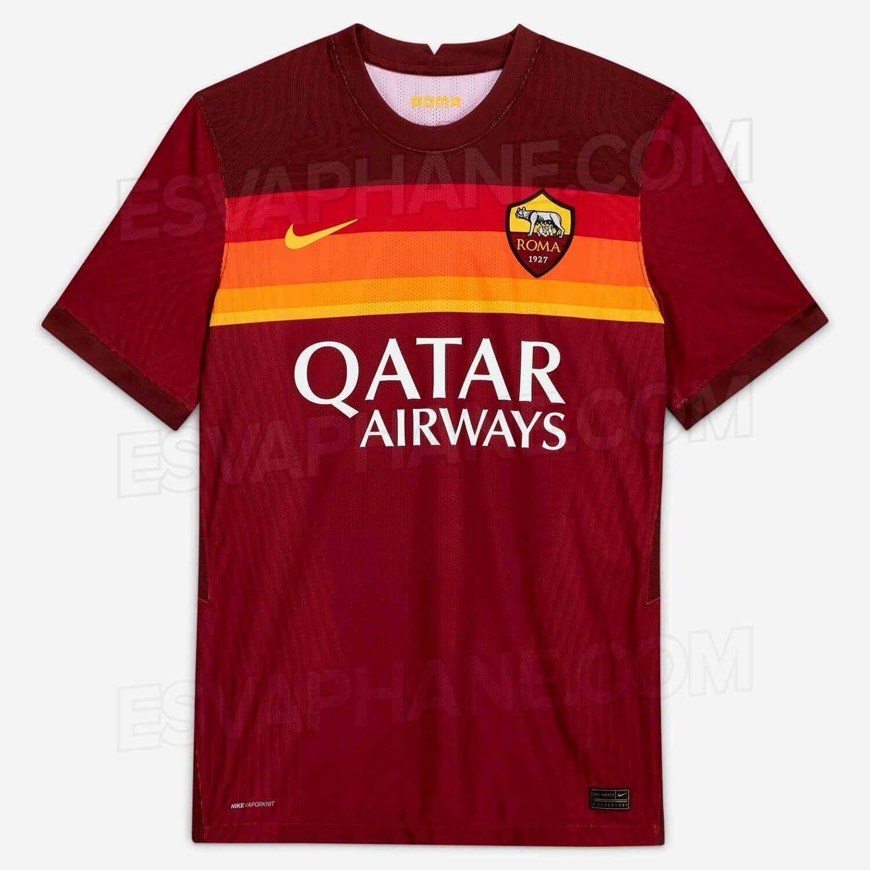 Camisa Nike Roma I Home 2020/2021 Torcedor Masculina