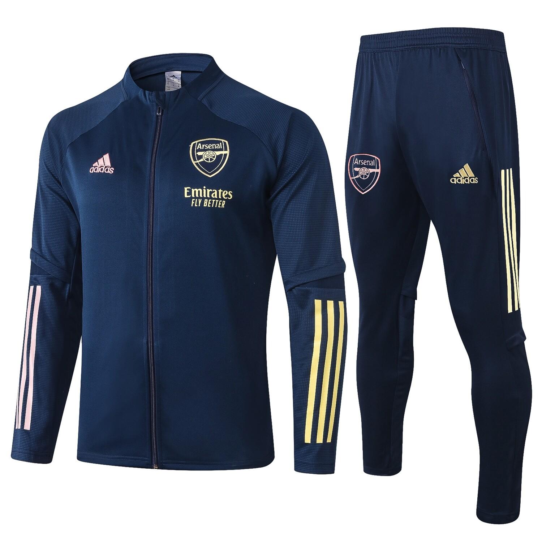 Kit Agasalho de Treinamento  do Arsenal 2020/2021