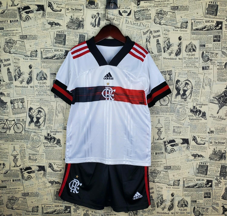 Camisa Flamengo II 2020/2021 adidas - Infantil+ Short de Brinde