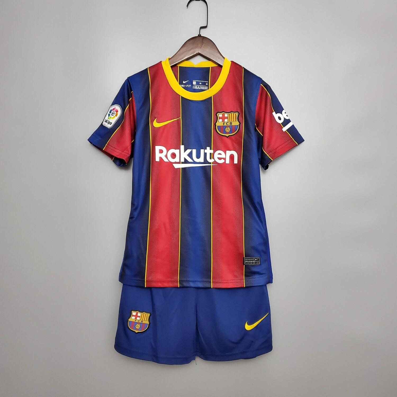 Camisa Infantil Barcelona Home 2020/2021