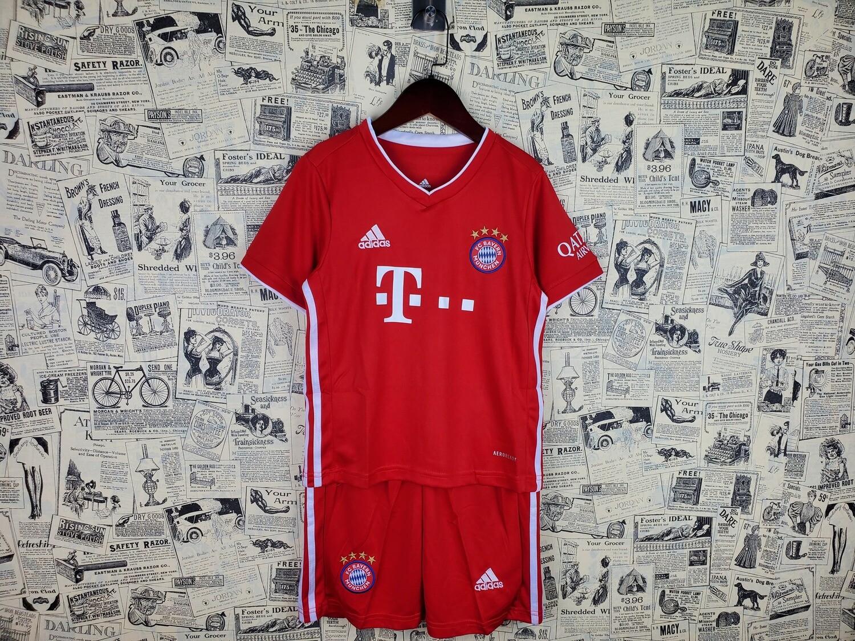 Camisa Bayern de Munique Home crianças 2020/21