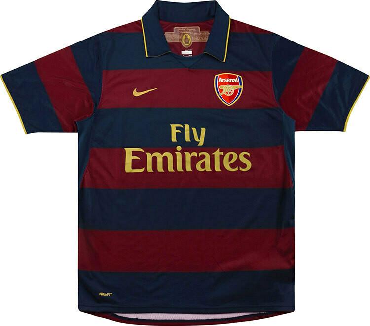 Camisa  Arsenal 2007/2008