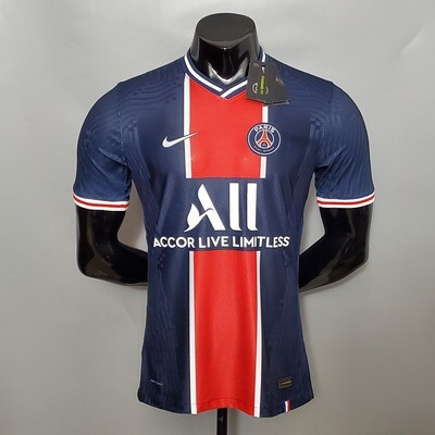 Camisa Paris Saint-Germain Home 2020-2021 Nike-Jogador