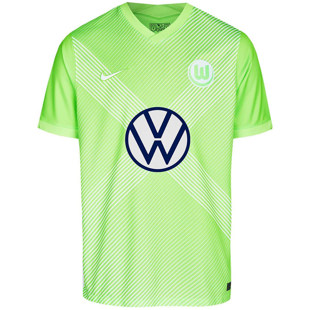 Camisa Wolfsburg 2020-2021 Home  Nike