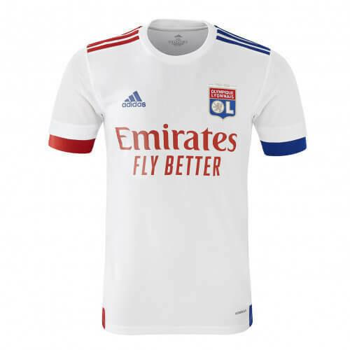 Camisa  Olympique Lyon 2020-2021 Adidas