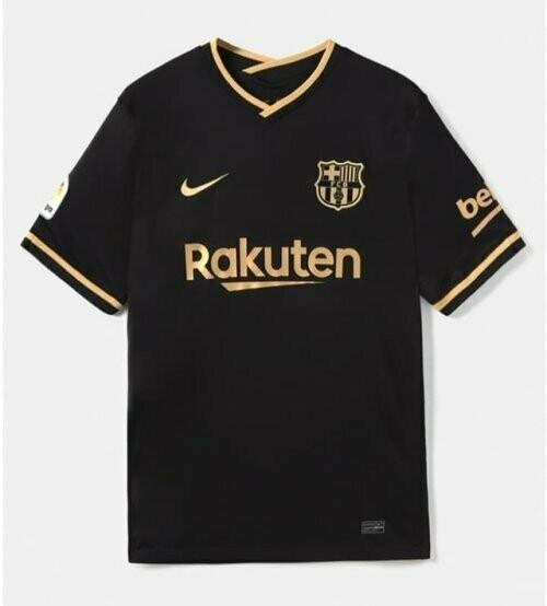 Camisa do Barcelona Preta 2020/2021 Nike Torcedor