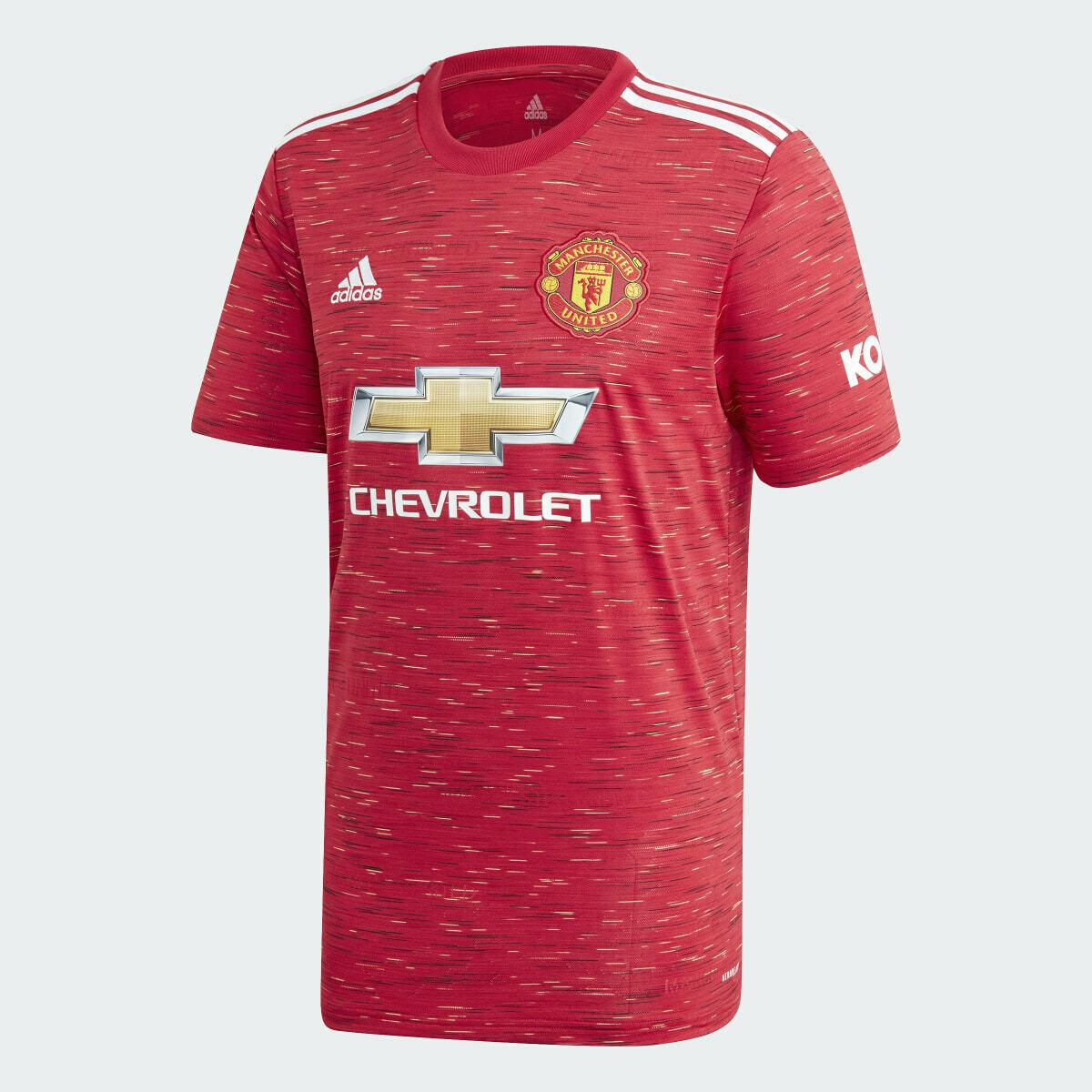 Camisa Manchester United Home  20/21 Masculina Torcedor