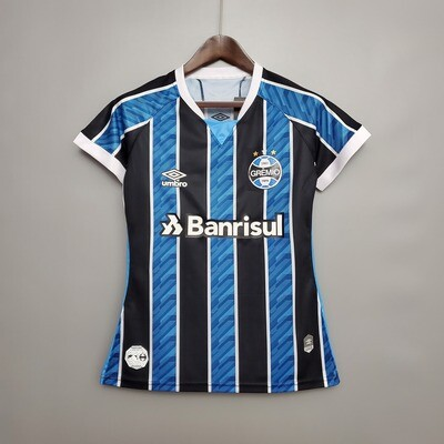 Camisa do Grêmio I 2020 Umbro - Feminina