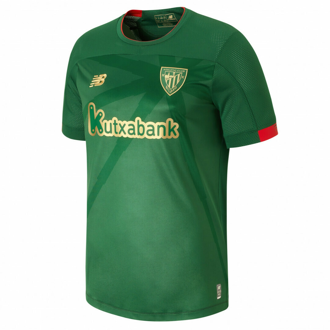 Camisa Athletic Bilbao 2019-2020 New Balance Uniforme Reserva