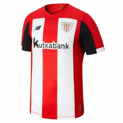 Camisa Athletic Bilbao 2019-2020 New Balance Uniforme Titular