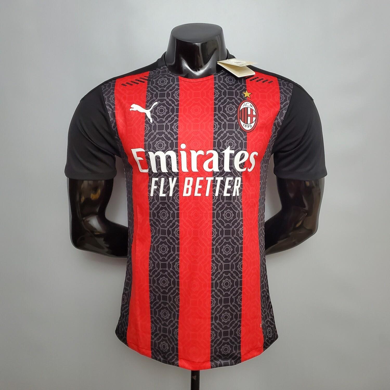 Camisa Milan Home I 2020/2021-Jogador