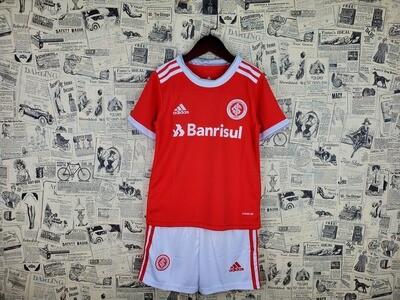 Camisa Internacional Infantil I 20/21  Torcedor Adidas - Vermelho