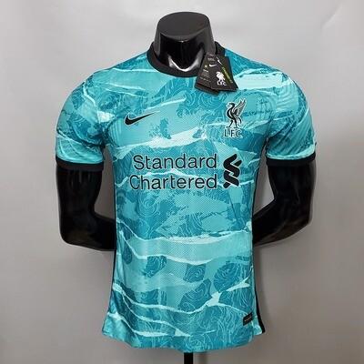 Camisa Liverpool II away  2020/2021 Nike Jogador