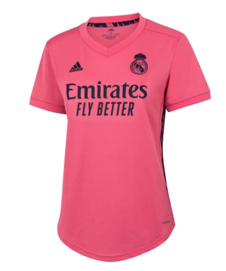 Camisa Real Madrid Feminina 2020/2021 Rosa