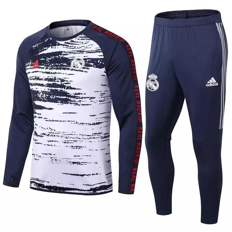 Conjunto de Treino Real Madrid 20/21 Adidas Masculino